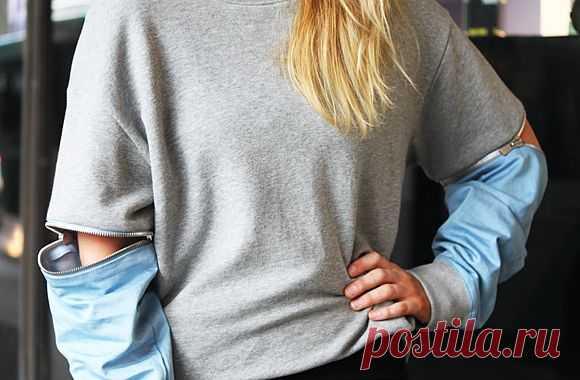 """""""Молниеносные"""" рукава / Детали / Модный сайт о стильной переделке одежды и интерьера"""
