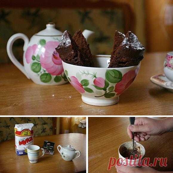 Кекс за 5 минут