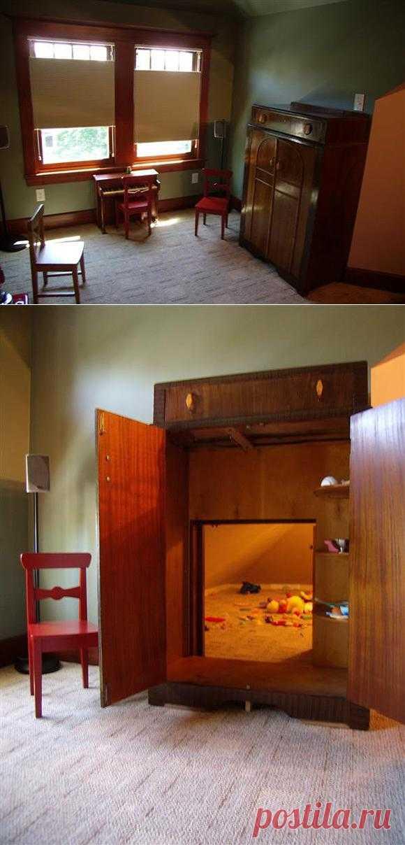 Секретная детская комната для игр