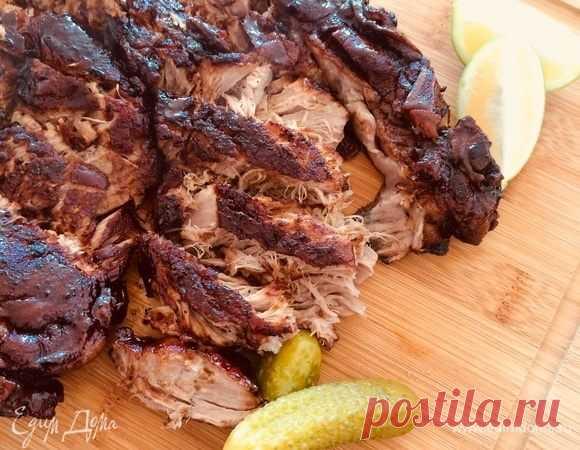 Томленая свинина (для бургеров), пошаговый рецепт на 1706 ккал, фото, ингредиенты - Nora