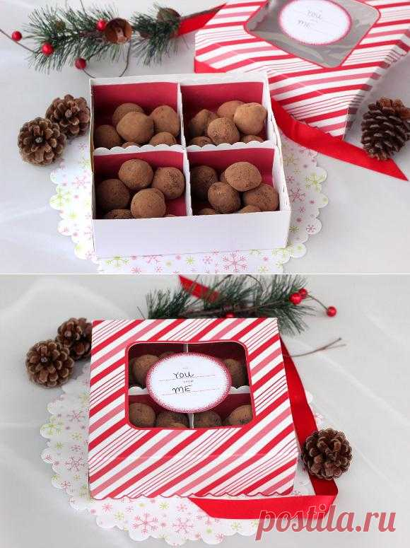 Подарочный набор конфет своими руками