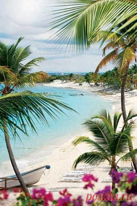 ¡Allí, donde siempre el verano! La república dominicana