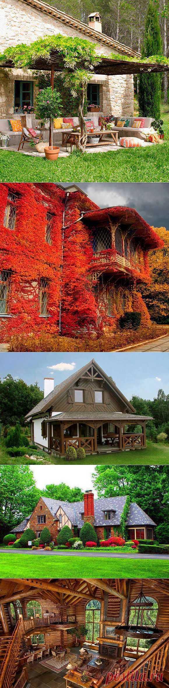 Выбирай: каков он, домик твоей мечты | Наш уютный дом