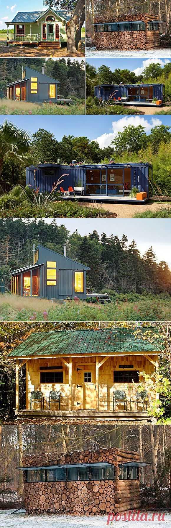 11 оригинальных дачных домиков со всего мира | Наш уютный дом