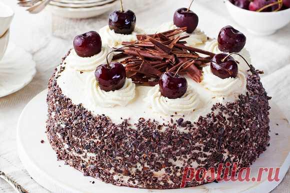 Кулинарные советы. Шварцвальдский вишневый торт: секреты приготовления