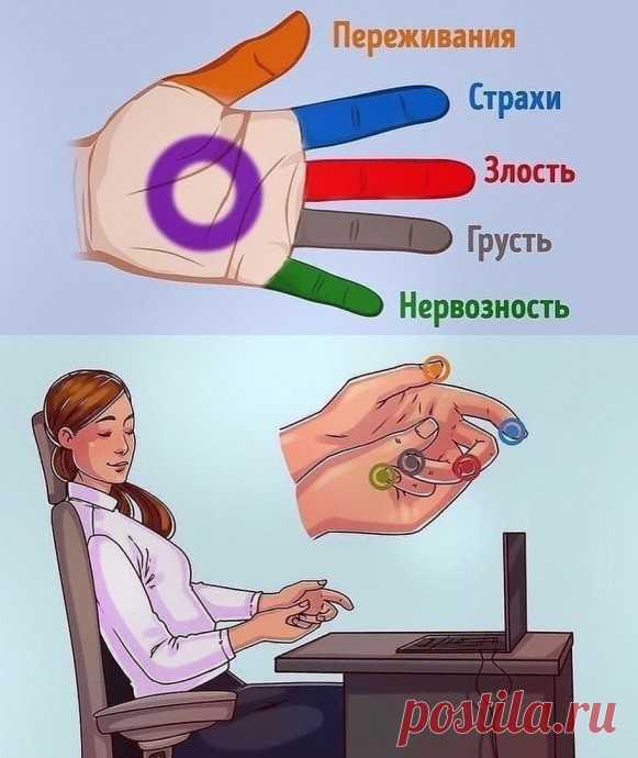 5-минутный массаж для рук для тех, у кого эмоции на пределе