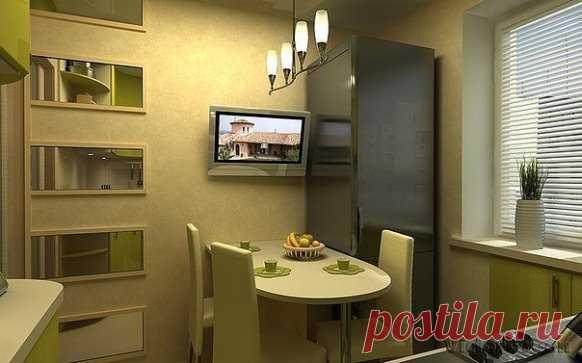 Дизайн кухни #кухни