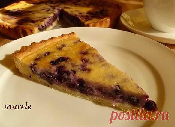 """Черничный тарт в сметанной заливке • Форум сайта """"Красна изба пирогами"""""""