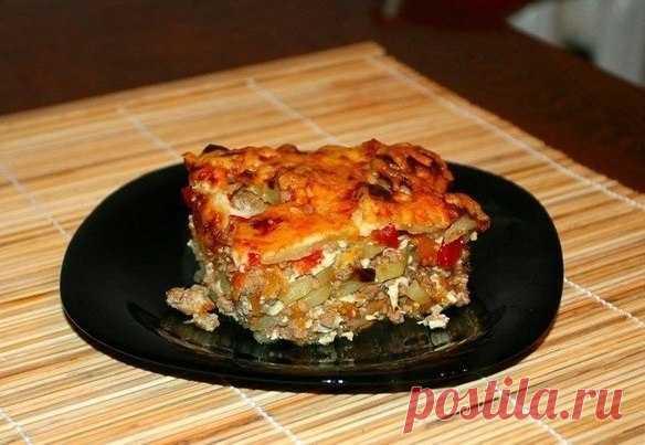 Как приготовить сербская мусака. - рецепт, ингредиенты и фотографии