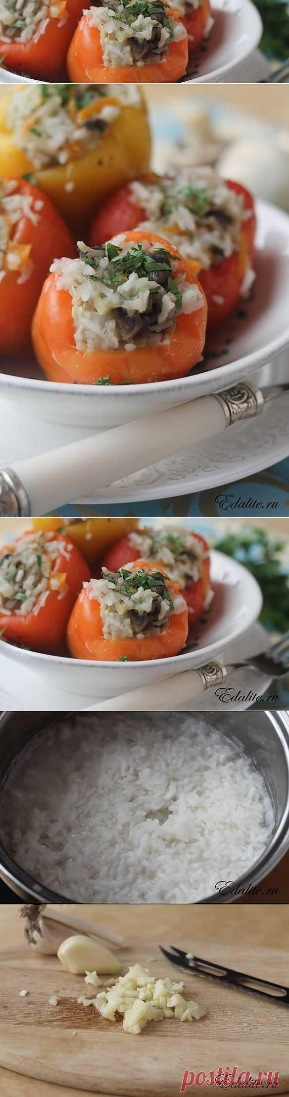 Фаршированный перец в пароварке – 79 ккал   Рецепт с Фото   Вкусно, Полезно, Легко   Edalite.ru