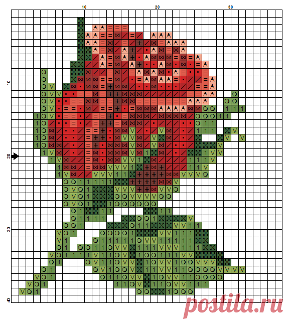 Rose Flower Perler Bead Pattern Might Also Make A Nice Quilt