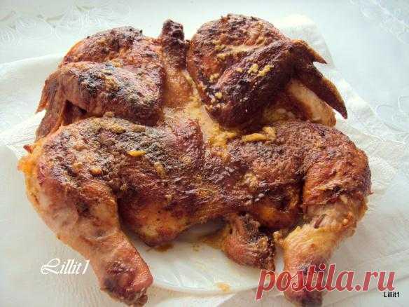 Шкмерули (Чкмерули) или Курица табака по-грузински. 2 варианта. | Территория Вкуса