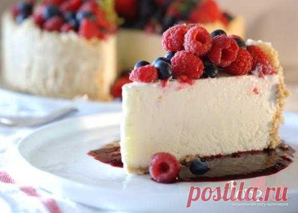 Холодный лаймовый торт-суфле с орехами - Loveeat - социальная сеть кулинаров