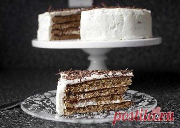 Шоколадно-ореховый торт - Loveeat - социальная сеть кулинаров