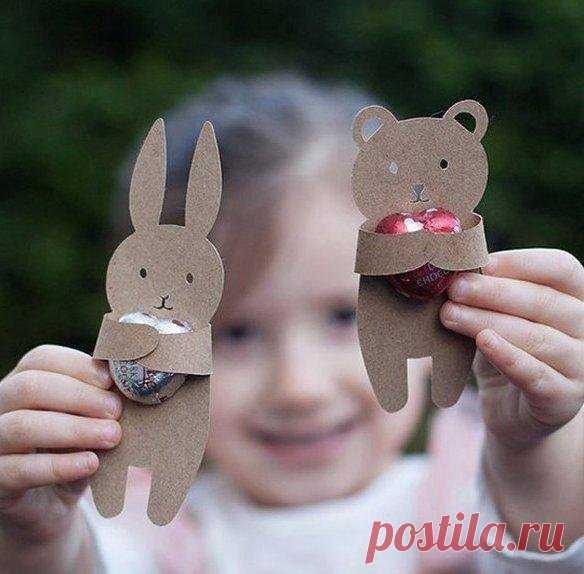 Как с детьми сделать упаковку для маленьких презентов — Поделки с детьми