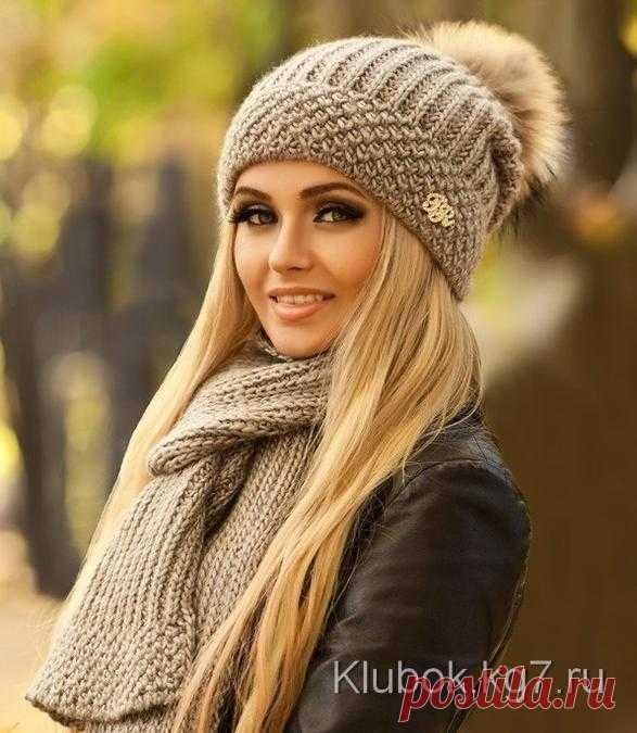Комплект спицами - шапка и шарф ОПИСАНИЕ УЗОРА ДЛЯ НАЧАЛА ВЯЗАНИЯ…: mettiss — ЖЖ