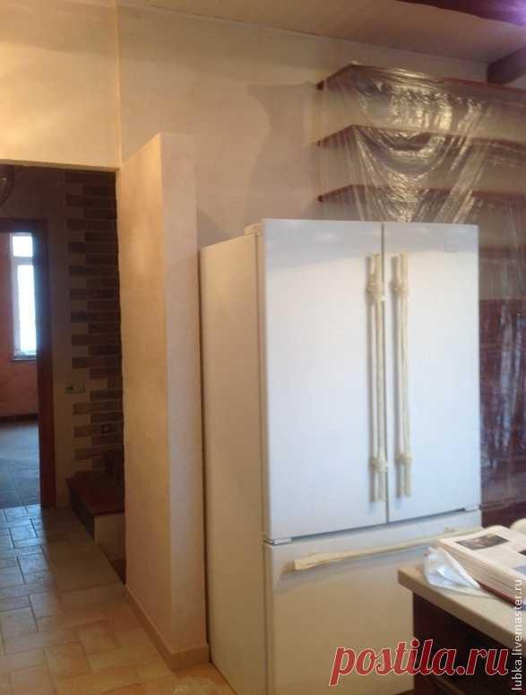 Роспись и декор холодильника в стиле прованс - Сам себе волшебник