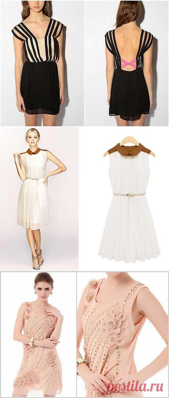 Платья (трафик) / Платья Diy / Модный сайт о стильной переделке одежды и интерьера