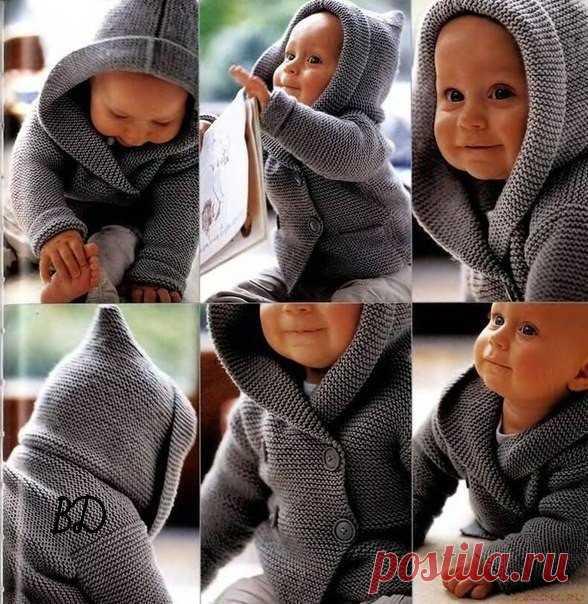 Жакет для малыша.