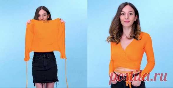 Переделки одежды (подборка) Модная одежда и дизайн интерьера своими руками