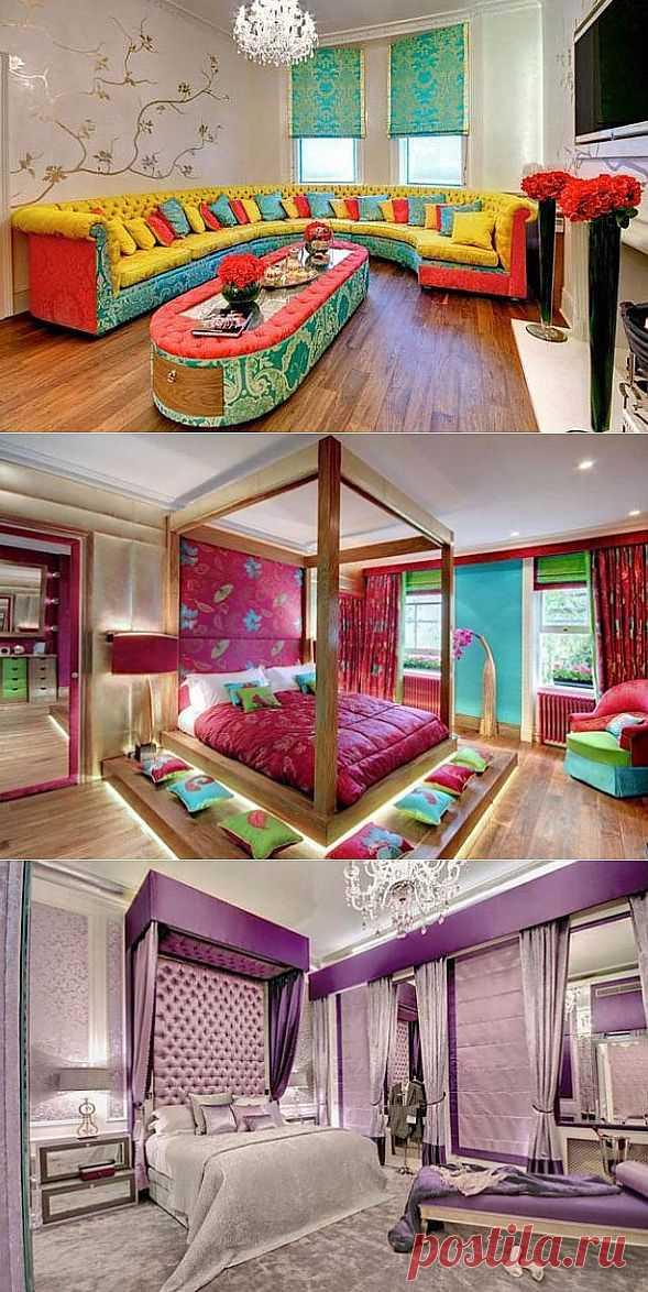 Цветовая гамма дома. Самобытный текстиль