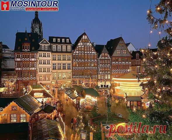 Рёмерберг_Франкфурт-на-Майне , красивейшая уютнейшая площадь !!