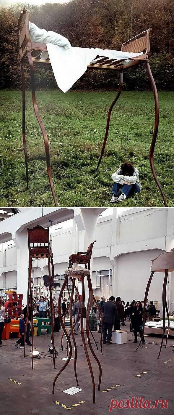 """Гигантские """"ожившие"""" стулья и комоды / Мебель / Модный сайт о стильной переделке одежды и интерьера"""
