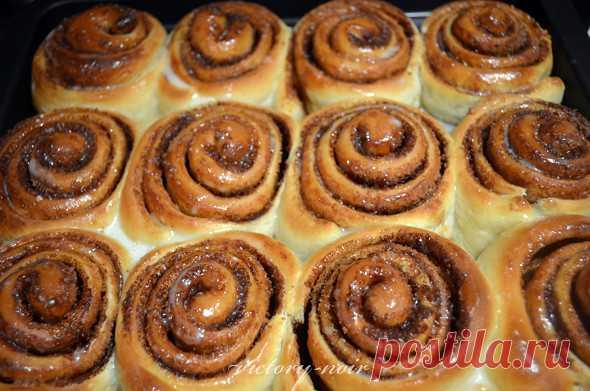 Космические булочки с корицей - Foodclub — кулинарные рецепты с пошаговыми фотографиями — ЖЖ