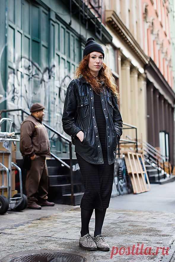 Кожаная рубашка / Рубашки / Модный сайт о стильной переделке одежды и интерьера