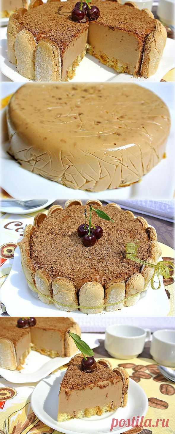 Торт-суфле без выпечки.