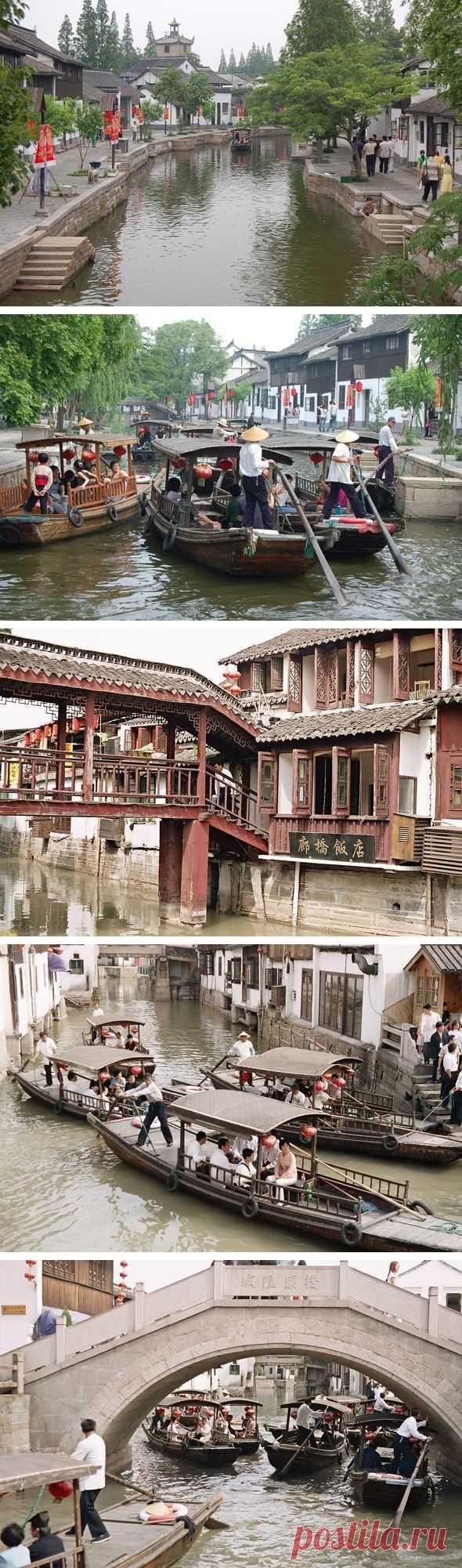 Шанхайская Венеция. Чжуцзяцзяо, Китай