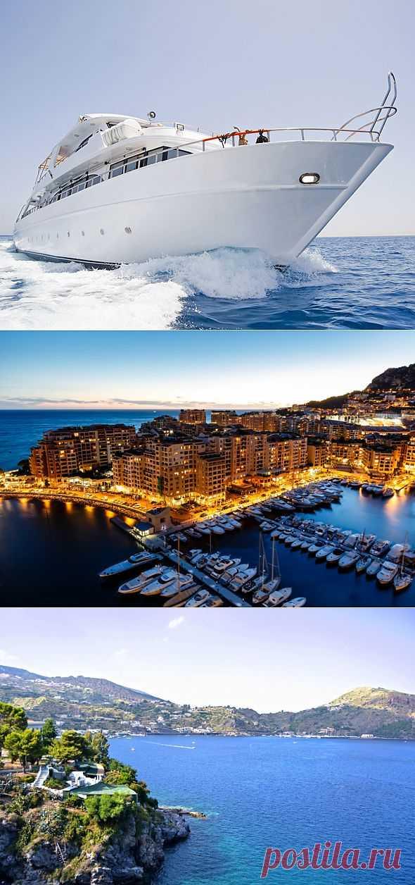 Лучшие средиземноморские маршруты для суперъяхт