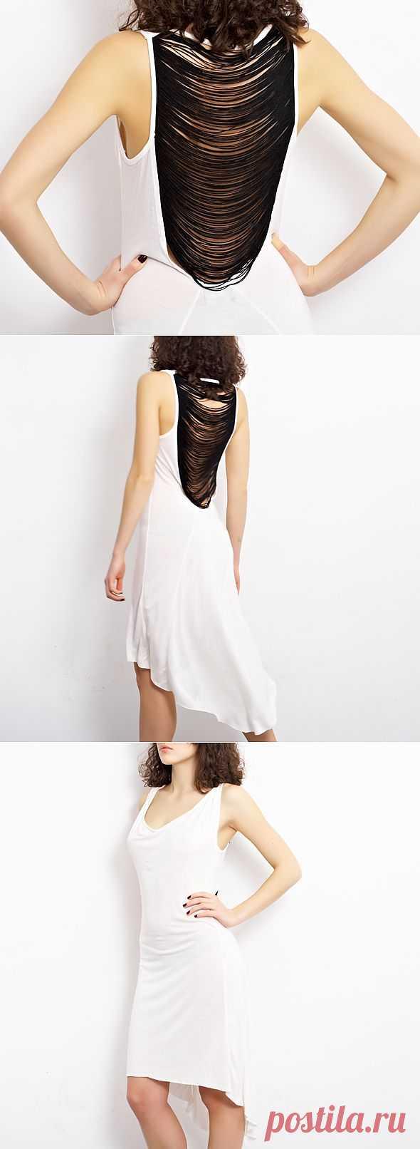 Сарафан Religion / Декор спины / Модный сайт о стильной переделке одежды и интерьера