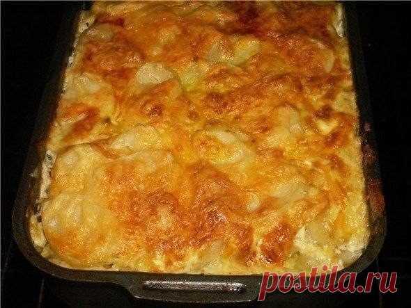 МЯСНАЯ ЗАПЕКАНКА. Любимый рецепт моей мамы. Ни одно торжество не обходилось без этого блюда!