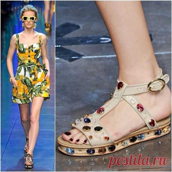 Как у Dolce and Gabbana (мастер-класс) / Обувь / Модный сайт о стильной переделке одежды и интерьера
