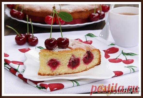 ВкусЛандия - Пирог *Нежный* с вишней.