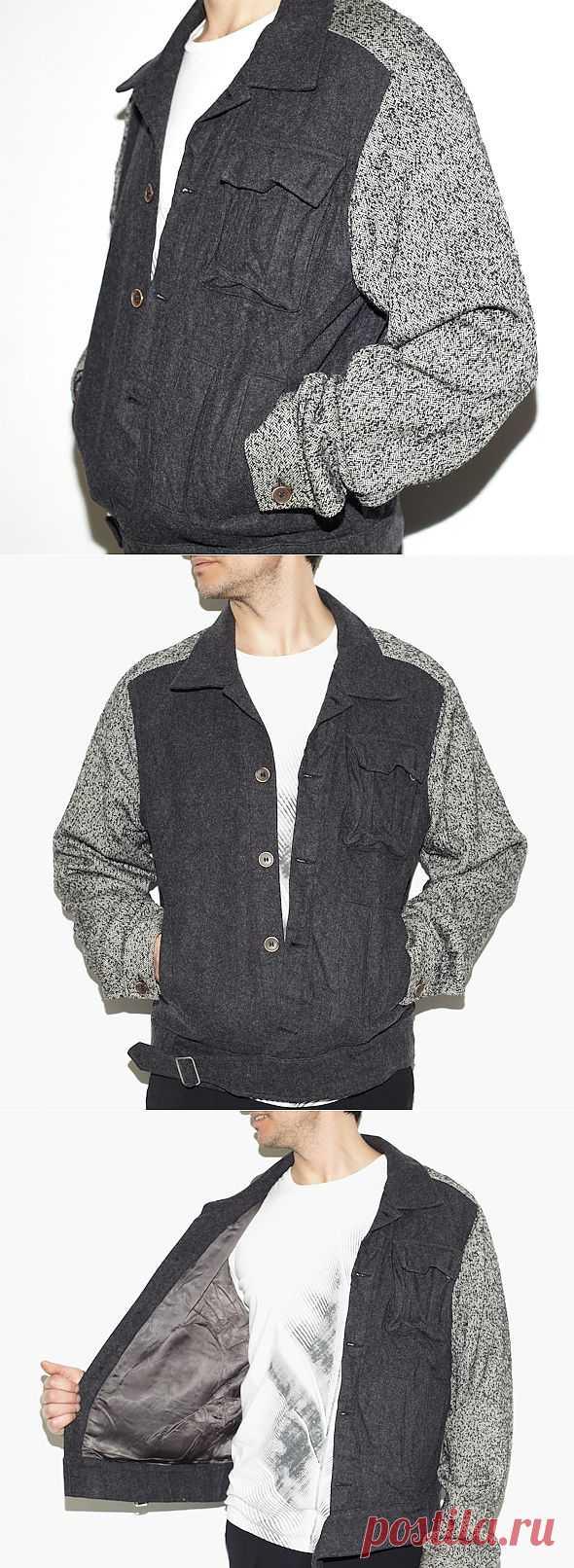 Мужская куртка Michiko Koshino Jeans / Мужская мода / Модный сайт о стильной переделке одежды и интерьера