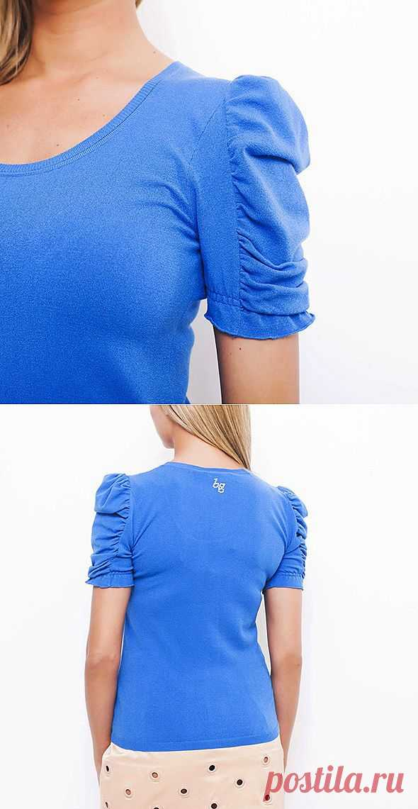 Оригинально скроенный рукавчик Blugirl / Детали / Модный сайт о стильной переделке одежды и интерьера