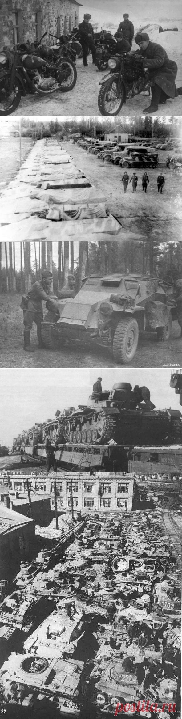 Военные трофеи СССР и союзников / Назад в СССР / Back in USSR