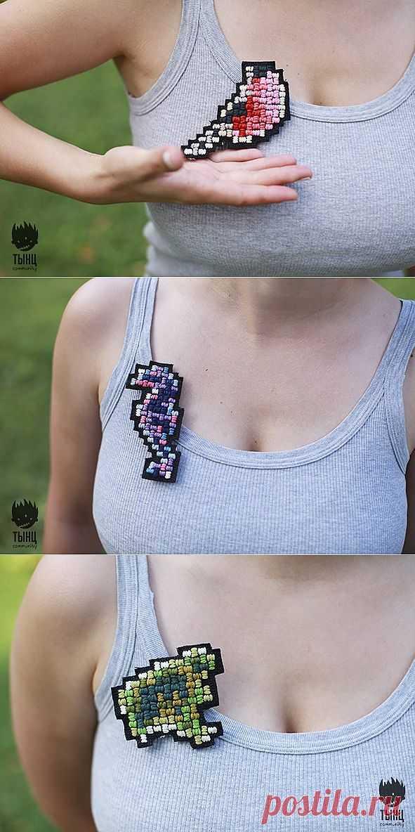 Пикселизируй это! (Подборка) / Украшения и бижутерия / Модный сайт о стильной переделке одежды и интерьера