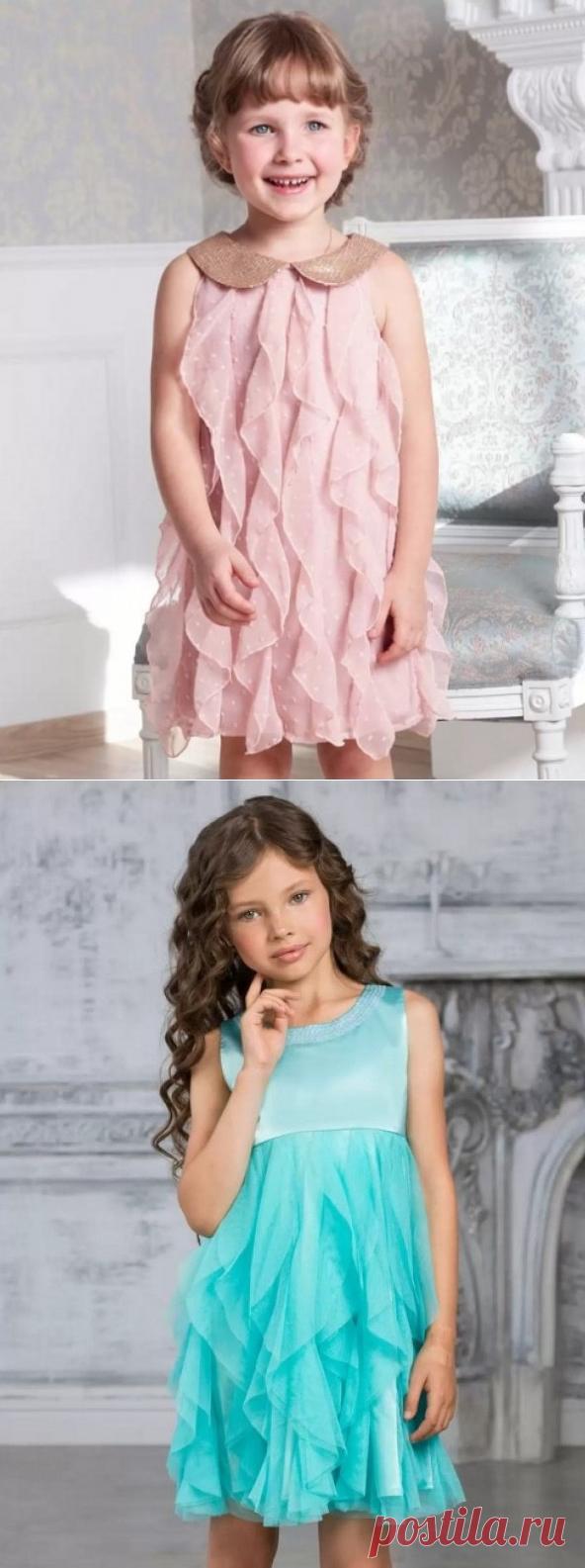 Воланы для детского платья — Сделай сам, идеи для творчества - DIY Ideas
