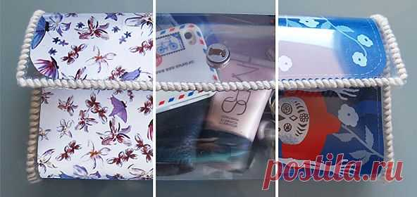 Клатч из пластика (мастер-класс) / Сумки, клатчи, чемоданы / Модный сайт о стильной переделке одежды и интерьера