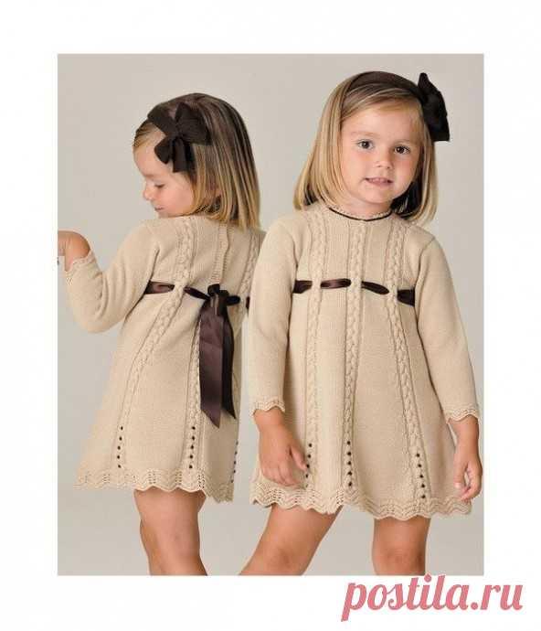 Нежное платье для девочки