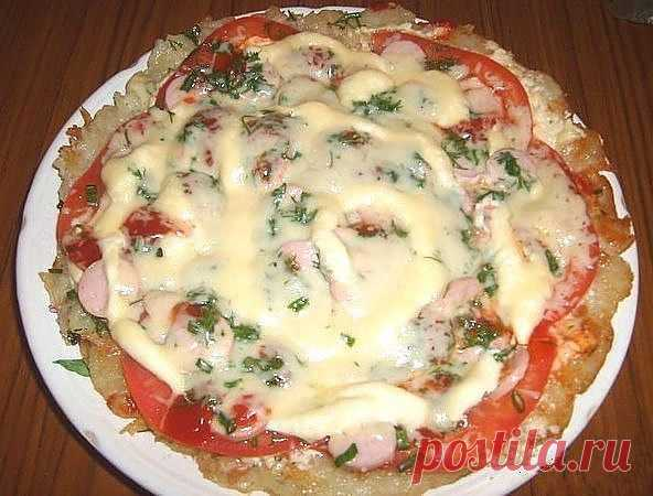 (+1) тема - Картофельная пицца | Любимые рецепты
