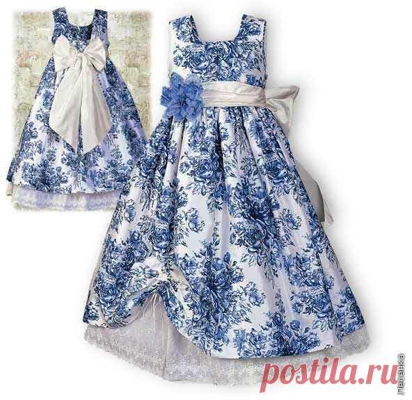 Платье в сад сшить своими руками