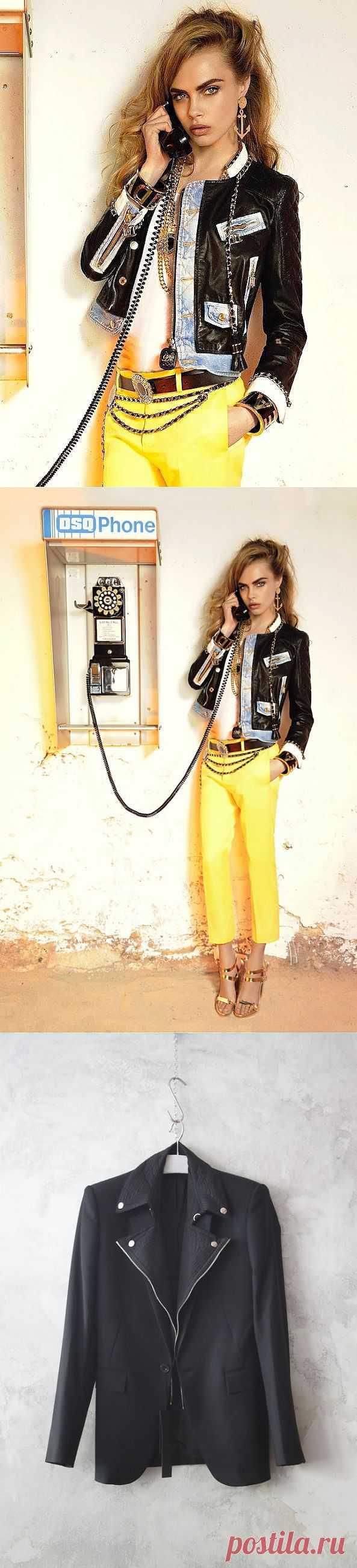 Две курточные комбинации / Курточные переделки / Модный сайт о стильной переделке одежды и интерьера