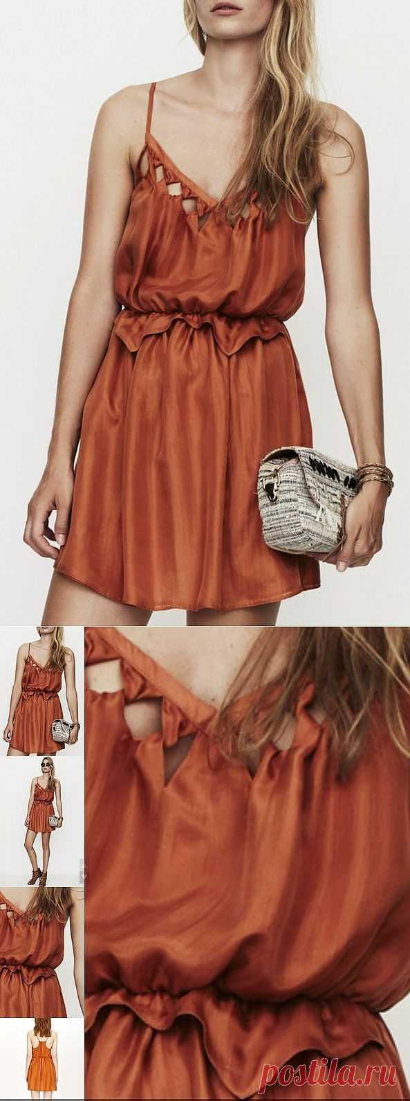 Платье с выкрутасами / Детали / Модный сайт о стильной переделке одежды и интерьера