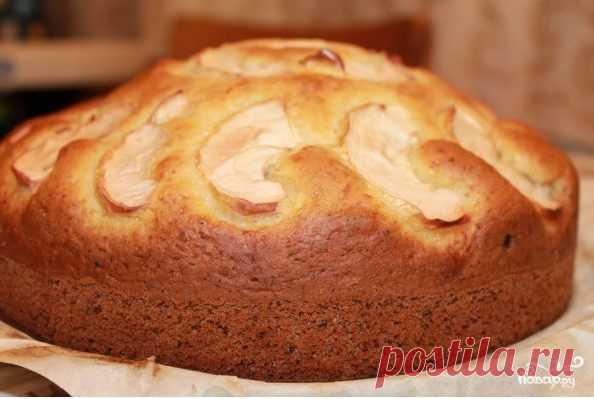 Быстрый пирог на кислом молоке - пошаговый рецепт с фото на Повар.ру