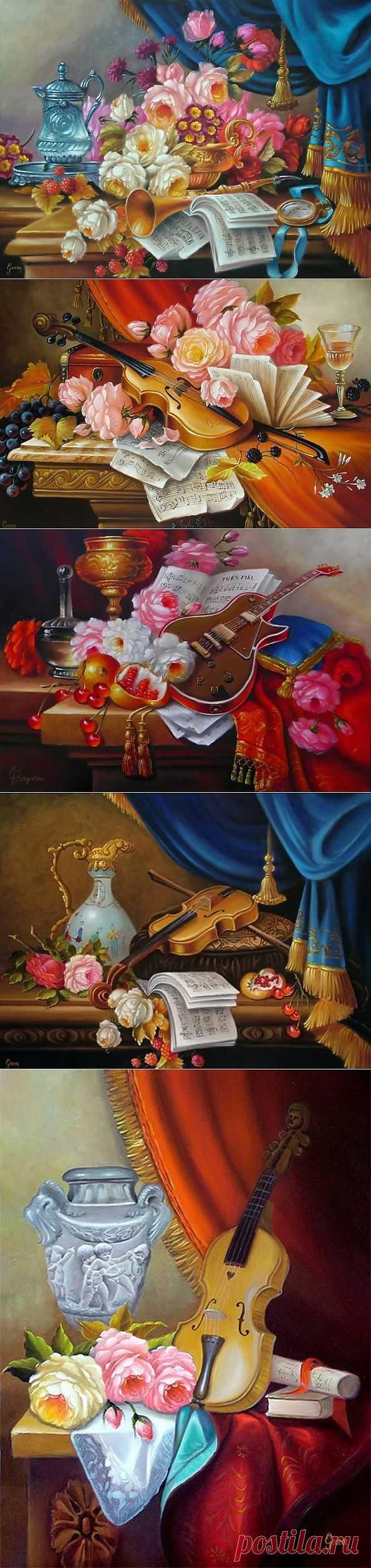 Бразильский художник George Pergentino de Souza.