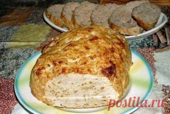 Как приготовить мясной хлеб - рецепт, ингредиенты и фотографии